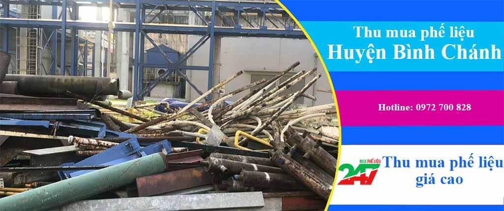 Mua Phế Liệu 247 chuyên thu mua phế liệu giá cao Huyện Bình Chánh