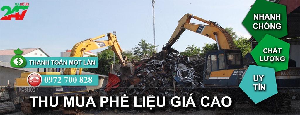 Mua Phế Liệu 247 thu mua máy móc cũ phế liệu giá cao
