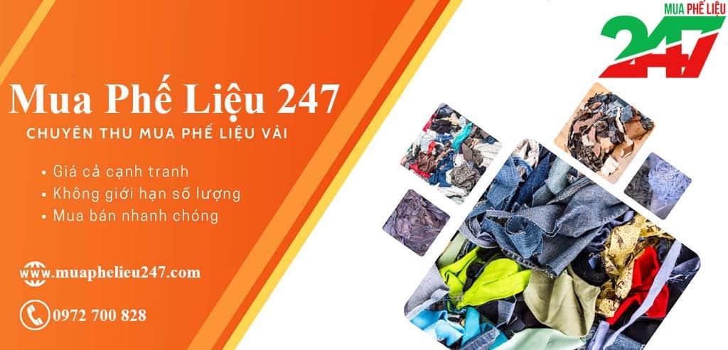 Mua Phế Liệu 247 cập nhật bảng giá thu mua phế liệu vải hằng ngày